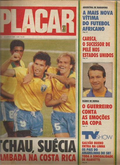 Revistas Placar - Ano 1990 - N.1043/1049/1050 - Cada 8.00