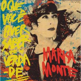 Marisa Monte - O Que Você Quer Saber De Verdade - Cd