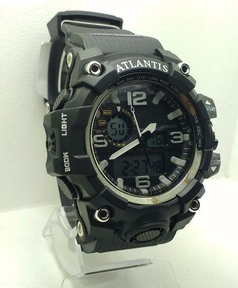 Relogio Atlantis Bonito Estilo G Shock Resistente Agua G5542