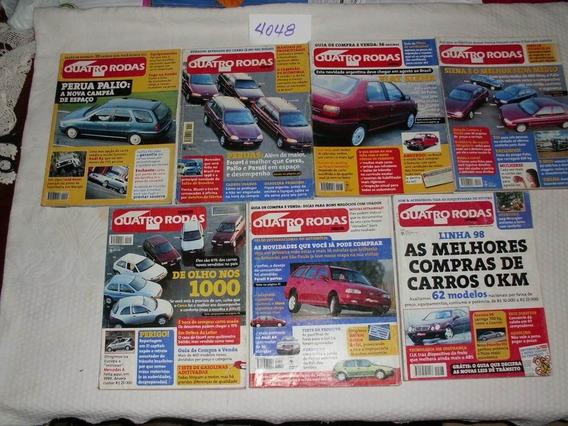 7 Revistas Quatro Rodas Edições De 1997 - Ref.: 4048