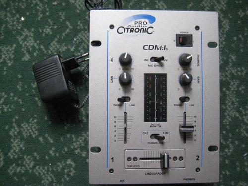 Remato Mixer Vendo O Cambio Marca Pro Audio Citronic Para Dj