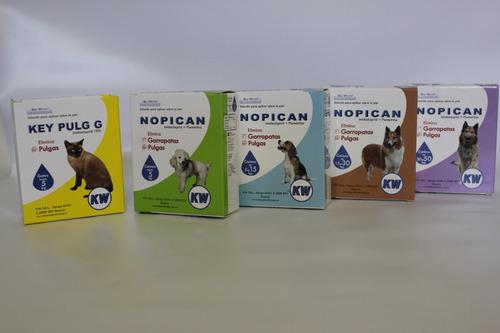 Pipetas Antipulgas Perros De 15 A 30 Kg Nopican