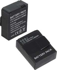 2 Unidades Kit Baterias P/ Gopro Hero3 / Gopro Hero 3+ Ahdbt