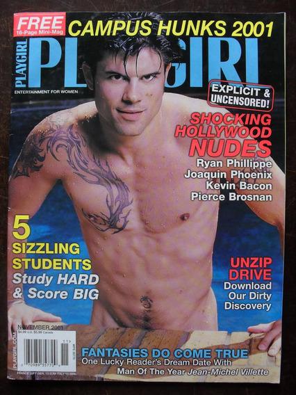 G Magazine Playgirl Magazine - Nov/2001