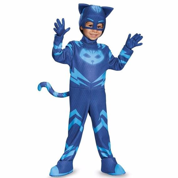 Disfraz Pj Mask Catboy Gatuno Luminoso Importado Heroes P