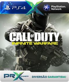 Call Of Duty: Infinite Warfare - Ps4 - Cod Psn Português !