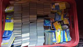 Pacote Com 3000 Cartões Telefônicos Variados - Oportunidade