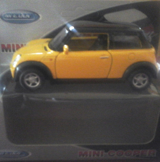 Auto Welly Esc 1/36 Mini Cooper Retro Rdf1