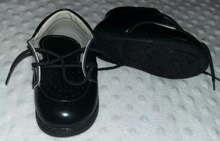 Zapatos De Charol/ Mocacines. Nuevos