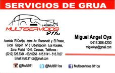 Servicio De Grua En Caracas Las 24 Horas