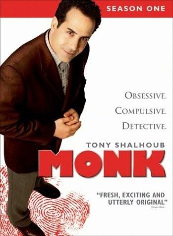 Dvd-monk-season One-4 Dvd´s-importado Em Otimo Estado