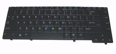 Teclado Hp 6910 Black Br C/ Point Stick Pn 446448-001