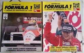 Revistas História Da Fórmula 1-temporada 1988 - Ayrton Senna