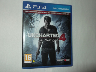 Uncharted 4 Version Europea Ps4 Videojuego