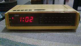 Rádio Relógio Dak