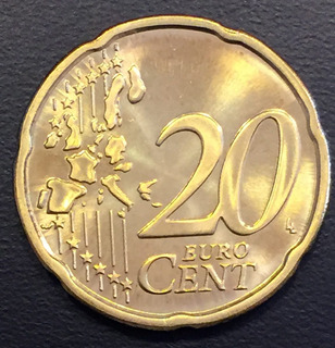 Fin028 Moneda Finlandia 20 Euro Cent 2000 Unc-bu Ayff