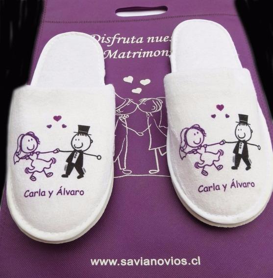 Pantuflas Casamientos Souvenirs