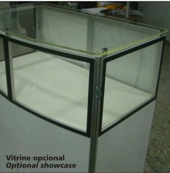 Balcão Vitrine Portátil&desmontável Para Venda De Produtos
