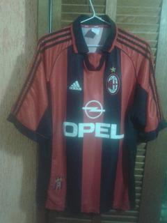 Camisa Milan Italia adidas 1998 #18 Leonardo Made In Italy
