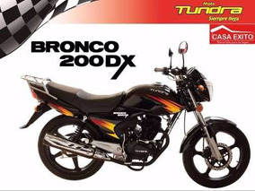 Moto Tunda Bronco 200 Dx