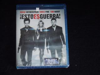 Blu Ray Esto Es Guerra ( Oferta)