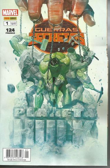 Guerras Secretas Planeta Hulk 01 - 1 Bonellihq Cx446 H18