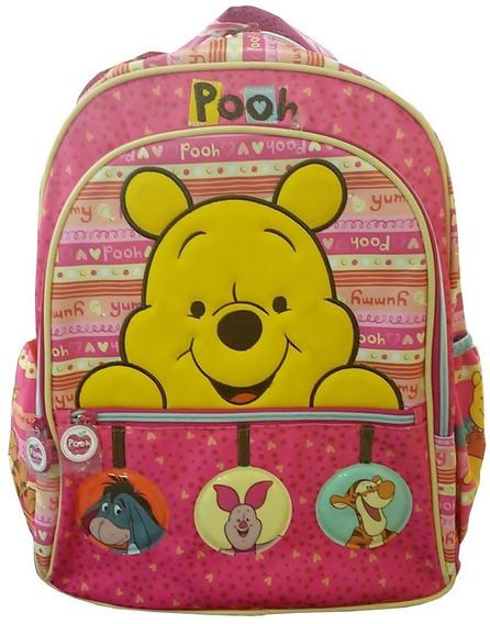 Mochila Escolar Tilibra Pooh Luxo 145912 - Shop Tendtudo