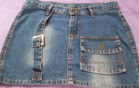 Mini Saia Jeans Da Autentic Tam 42