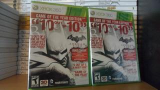 Batman Arkham City Game Of The Year Nuevo - Nuevo - Xbox 360