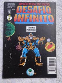 Hq: Desafio Infinito - Parte 2 - Thanos - Abril Jovem - 1995