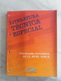Manual De Serviço Transmisao Automatica Af-13 Af-20 4l60-e