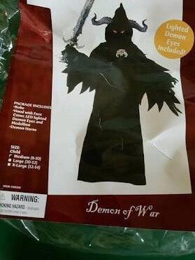 Disfraz Demonio De La Guerra