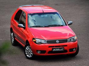 Fiat Palio Elx 1.8r 2007 Vermelho Modena, Em Estado De Zero: