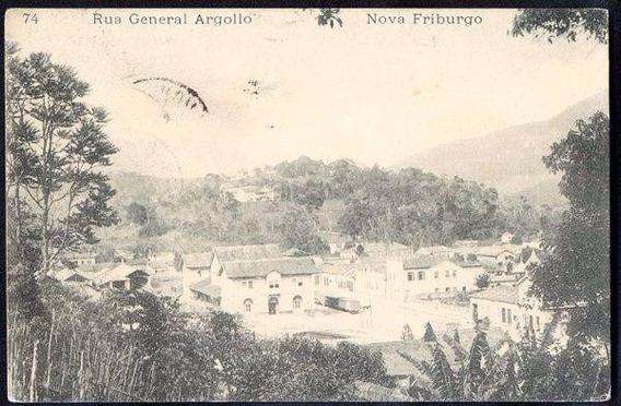 R.janeiro - N. Friburgo, R. General Argollo, Cartão Postal