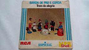 Compacto - Banda De Pau E Corda - Rca - 1981