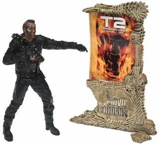 Movie Maniacs Mcfarlane Movie Maniacs Series 4 T2 Terminator