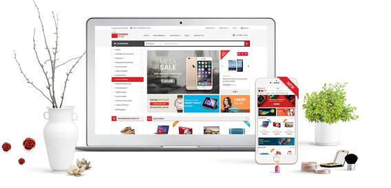 Tema Loja Virtual Woocommerce - Wordpress