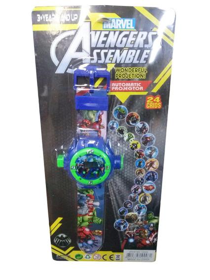Relógio Infantil Vingadores E Homem Aranha