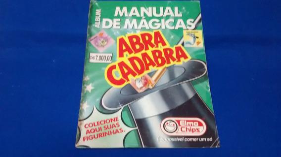A50-álbum Manual De Mágicas Abra Cadabra Elma Chips R$ 250,0