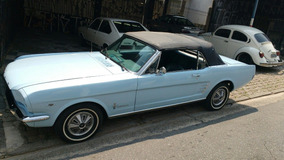 Ford Mustang Gt Conversivel Hard Top Fast Back 1966 Zaffira