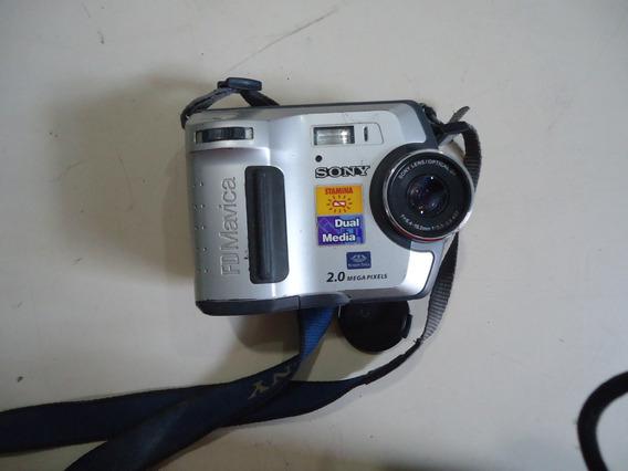 Camera Digital Sony Mavica Mvc-fd200 ( Leia O Anuncio )