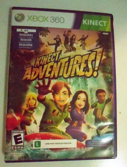 Kinect Adventures Midia Fisica Portugues Xbox 360 Original