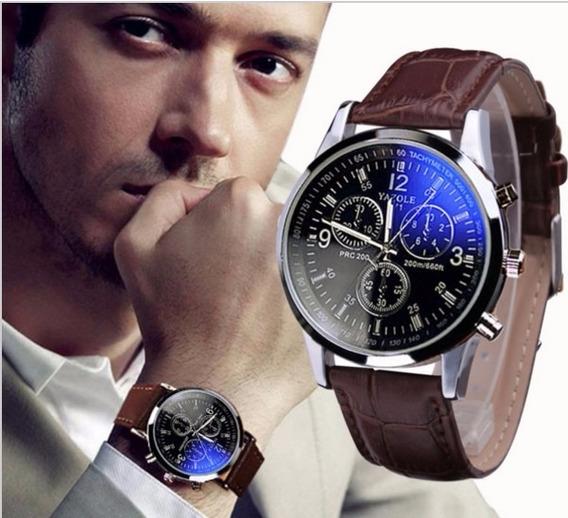 Relógio De Luxo Masculino - Frete Grátis - Imperdível