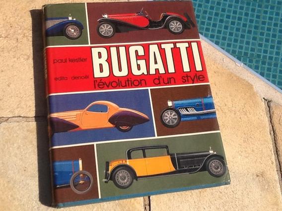 Bugatti Livro Importado Em Frances Antigo Raro