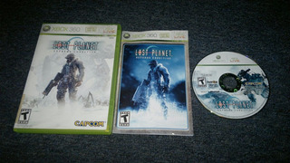 Lost Planet Extreme Condition Completo Xbox 360,excelente