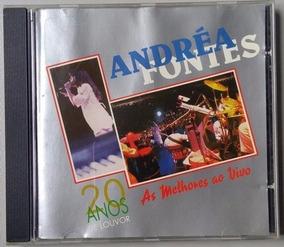 Cd Andréa Fontes 20 Anos De Louvor