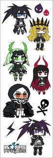 Plancha De Stickers De Anime De Black Rock Shooter Dead Mast