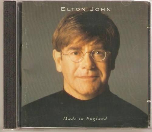 Cd - Elton John - Made In England ( Novo E Lacrado )