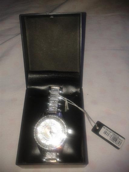 Relógio Pink Biju Original Feminino