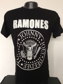Camiseta Ramones Logo Rock Metal Anime Comics Salsa
